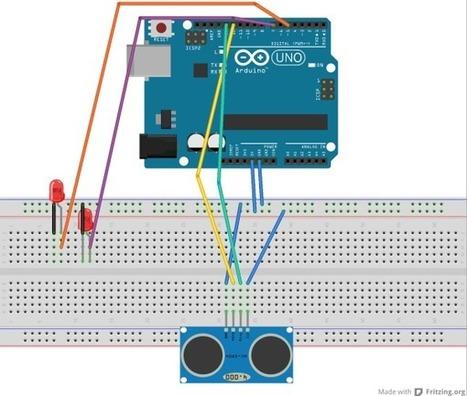 Lección 18 - Arduino - Sensor ultrasónico | arduino | Scoop.it
