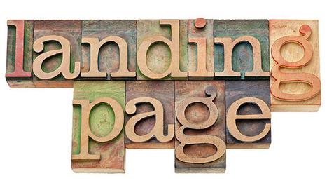 Bien réaliser une landing page efficace | webmarketing & internet | Scoop.it