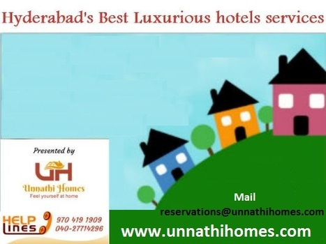 High Quality Guest House services for your Vacations in Hyderabad | Guest House in Hyderabad | Scoop.it