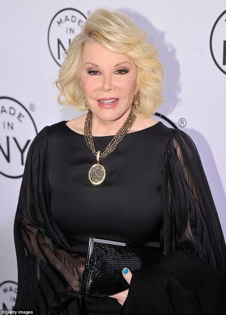 "Joan Rivers' daughter Melissa visits arranges funeral for Joan | ""FOLLIEWOOD"" 