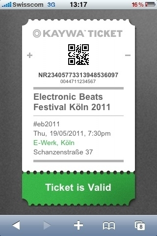 Ticket Scanner App at Electronic Beats in Cologne | QRiousCODE | Scoop.it