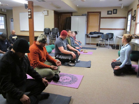 U.S. Military Embraces Yoga To Ease War's Physical, Emotional Wounds | PTSD | Scoop.it