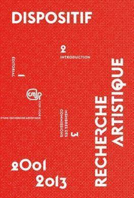 Dispositif : recherche artistique 2001-2013 | Centre national des arts plastiques | accompagnement artistes | Scoop.it