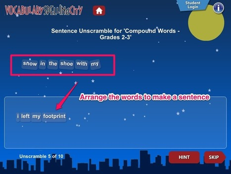Nik's QuickShout: A Great app for developing spelling | PatriMo's corner | Scoop.it