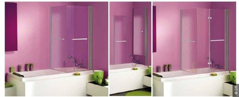transformer sa baignoire en cabine de douche av. Black Bedroom Furniture Sets. Home Design Ideas