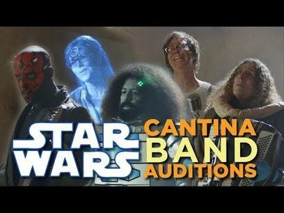 Star Wars Cantina Band Auditions | supreme moments | Scoop.it