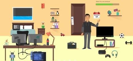 Le CV interactif en parallaxe : naviguez, cliquez et recrutez ! - Mode(s) d'emploi | Accompagner la démarche portfolio | Scoop.it