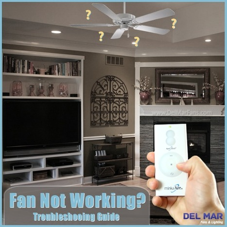 Ceiling Fan Troubleshooting | Solutions to Common Ceiling Fan Problems | Ceiling Fans | Scoop.it