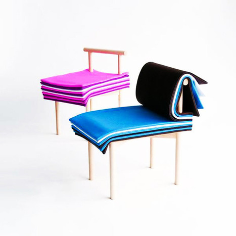 The Pages Chair by 6474 Design Team, Tokyo | Furniture Design | Scoop.it