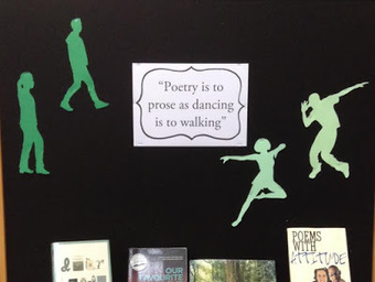 Library Displays: National Poetry Day (New Zealand) | LibraryHints2012 | Scoop.it