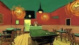 Plongez dans un tableau de Van Gogh grâce à la réalité virtuelle | IDBOOX | L'e-Space Multimédia | Scoop.it