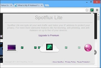 Spotflux : un VPN gratuit sous forme d'extension Google Chrome | Time to Learn | Scoop.it