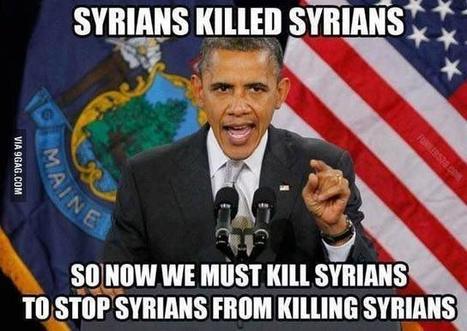 12 ex des services US à Obama: «Ce n'est pas Bachar!» | Shabba's news | Scoop.it