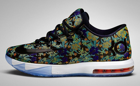 "Nike KD VI EXT ""Floral"" Official Images 