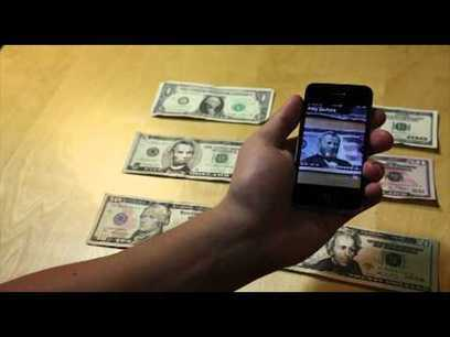 """Video: Possibly the Best iPhone App Yet """"Sees"""" Money for the Blind - Culture - GOOD 