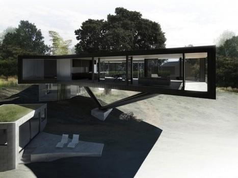 La maison flottante de la rivière Napa par Craig Steely Architecture | The Architecture of the City | Scoop.it