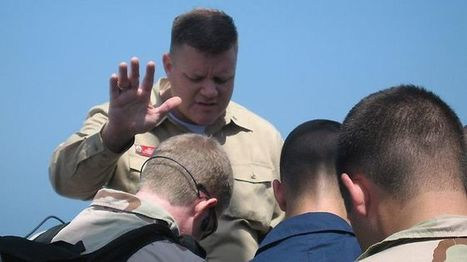 Navy Chaplain Censored: 'Don't pray in the name of Jesus' | The Christian Voice- Articles | Scoop.it