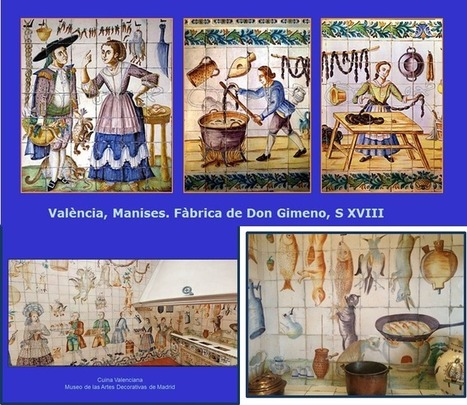 Les rajoles de les cuines valencianes del XVIII | Cuines | Scoop.it