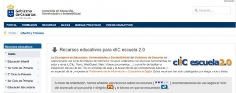 Recursos educativos en español, para infantil, primaria y secundaria | Marketing Educativo | Scoop.it
