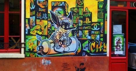 Sunday Street Art : Speedy Graphito - rue de la Butte aux Cailles - Paris 13   Paris la douce   Richard and Street Art   Scoop.it