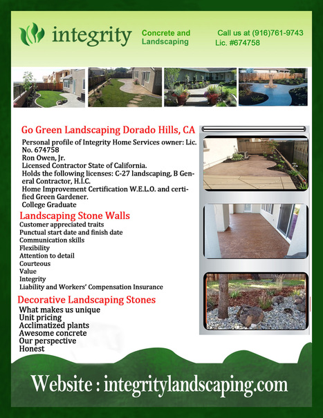 Granite Bay CA Concrete Home Construction | Integrity Landscaping | Scoop.it