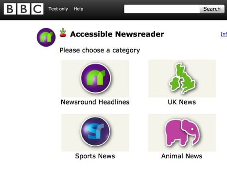 BBC Inclusive Newsreader | AssistiveTechnology | Scoop.it