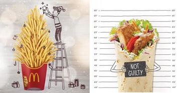 Sur Instagram, McDonalds s'amuse à donner vie à ses produits avec des petits dessins ! | Médias sociaux : Conseils, Astuces et stratégies | Scoop.it