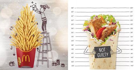 Sur Instagram, McDonalds s'amuse à donner vie à ses produits avec des petits dessins   Veille : Community management SMO   Scoop.it