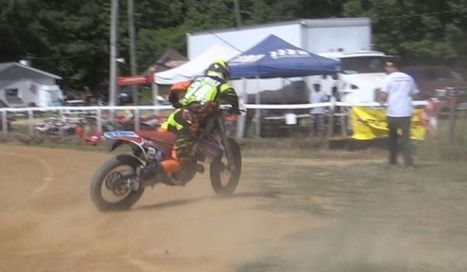 "AMA Pro Flat Track's Facebook Wall: Flat Track Live says ""Don't be THAT guy"" and RIDE Academy can show aspiring AMA Pro Flat Track racers how its done at the Calistoga Half Mile track. #TossItAwayT... 