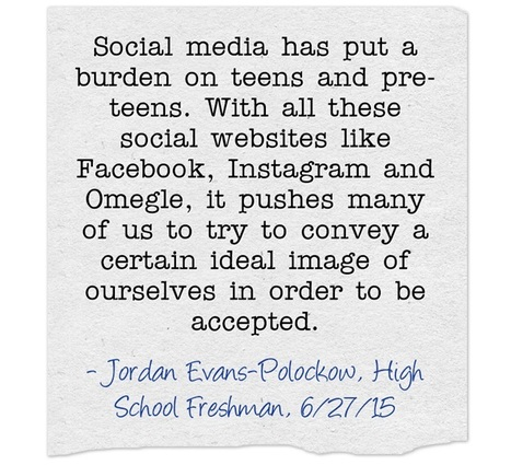 Teens, peer pressure and social media | Responsible Digital Citizenship | Scoop.it