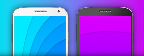 Free Galaxy S4 PSD Templates | PSD Mobile User Interface | Scoop.it