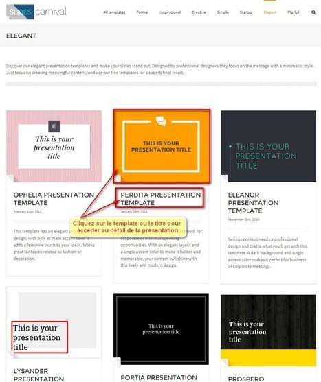 SlidesCarnival - The Nextools : Blog Outils Webmarketing | Gestion et traitement de l'information | Scoop.it