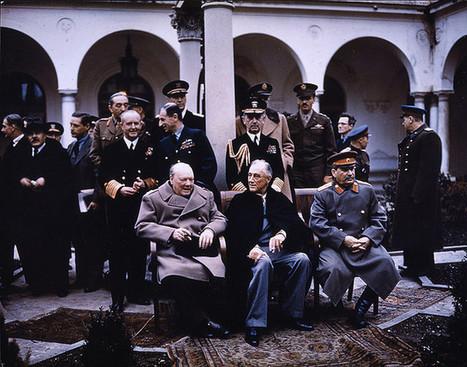 The Big Three at Yalta   European History 1914-1955   Scoop.it