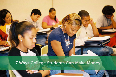 7 Ways College Students Can Make Money - Modest Money | Airline Miles | Scoop.it