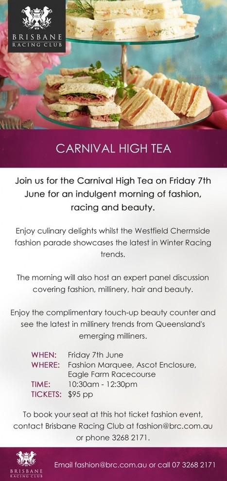 Brisbane Racing Carnival's High Tea 2013 | Fashion Designing and Tailoring | Scoop.it