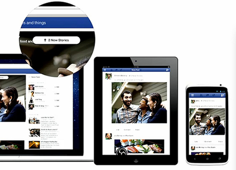 Facebook Choice of Feeds, Mobile UI detailed: rollout begins today - SlashGear | It technology plus design | Scoop.it