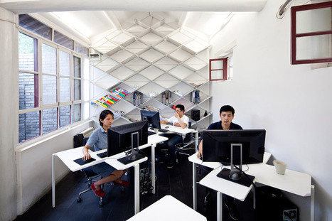 people's architecture office: pao pido office in beijing | Inspired By Design | Scoop.it