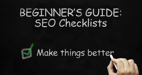 Beginner's Guide to the SEO Checklist | Content Strategy |Brand Development |Organic SEO | Scoop.it