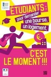 Les demandes de bourses et logement étudiants c'est maintenant | Mickaël DECLERCK | Scoop.it