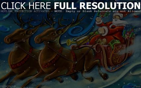 christmas animation | High Definition Wallpapers (HD Wallpapers 1080p) | Scoop.it