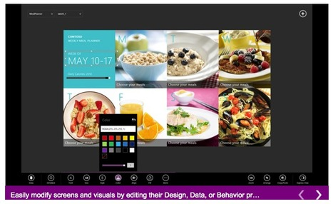 Project Siena: Microsoft maakt het maken van een app net zo 'eenvoudig' als het maken van een PowerPoint presentatie | BlokBoek e-zine | Scoop.it