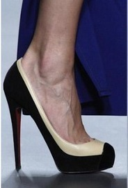 Christian Louboutin High Heels Mago online sales of Suede Blue Pumps | sexy Christian Louboutin shoes | Scoop.it