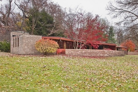 Frank Lloyd Wright's Laurent House Opens as Museum in June | Architecture-Modern | Scoop.it