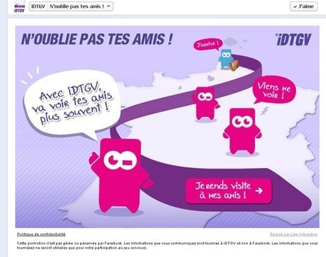 iDTGV n'oublie pas vos amis | Customer-centricity | Scoop.it