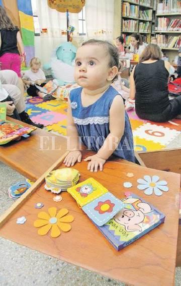 Los bebés tienen su espacio en la Biblioteca Pedagógica - Santa Fe - ElLitoral.com | Bibliotecas Escolares Argentinas | Scoop.it