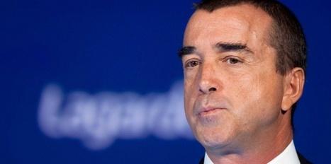 Le bénéfice de Lagardère gonflé par la vente des parts dans EADS - Challenges.fr   Groupe Lagardère   Scoop.it