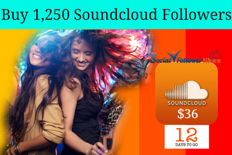 Gain 1,250 Soundcloud Followers online and increase online visibility (Shopping - Online Shopping) | Social Media Marketing | Scoop.it