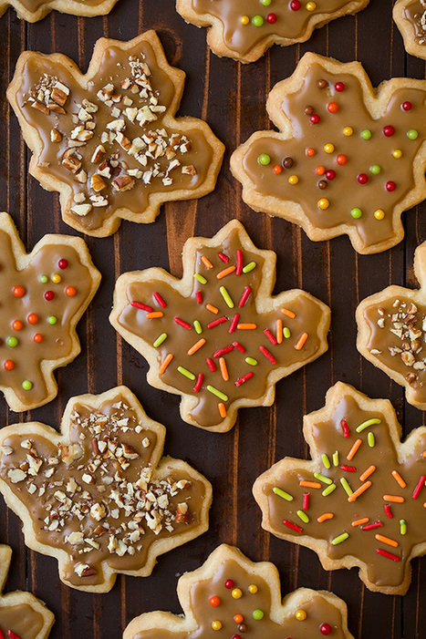 Glazed Maple Shortbread Cookies - Cooking Classy | Passion for Cooking | Scoop.it