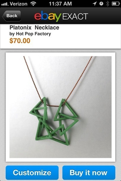 EBay Uses 3-D Printing Technology to Expand The Ways That Things on its Site Can Be Made | MIT Technology Review | 3rd Industrial Revolution | Scoop.it