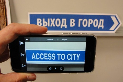 See the World in a Different Language With Google's Augmented Reality | learning by using iPads | Scoop.it